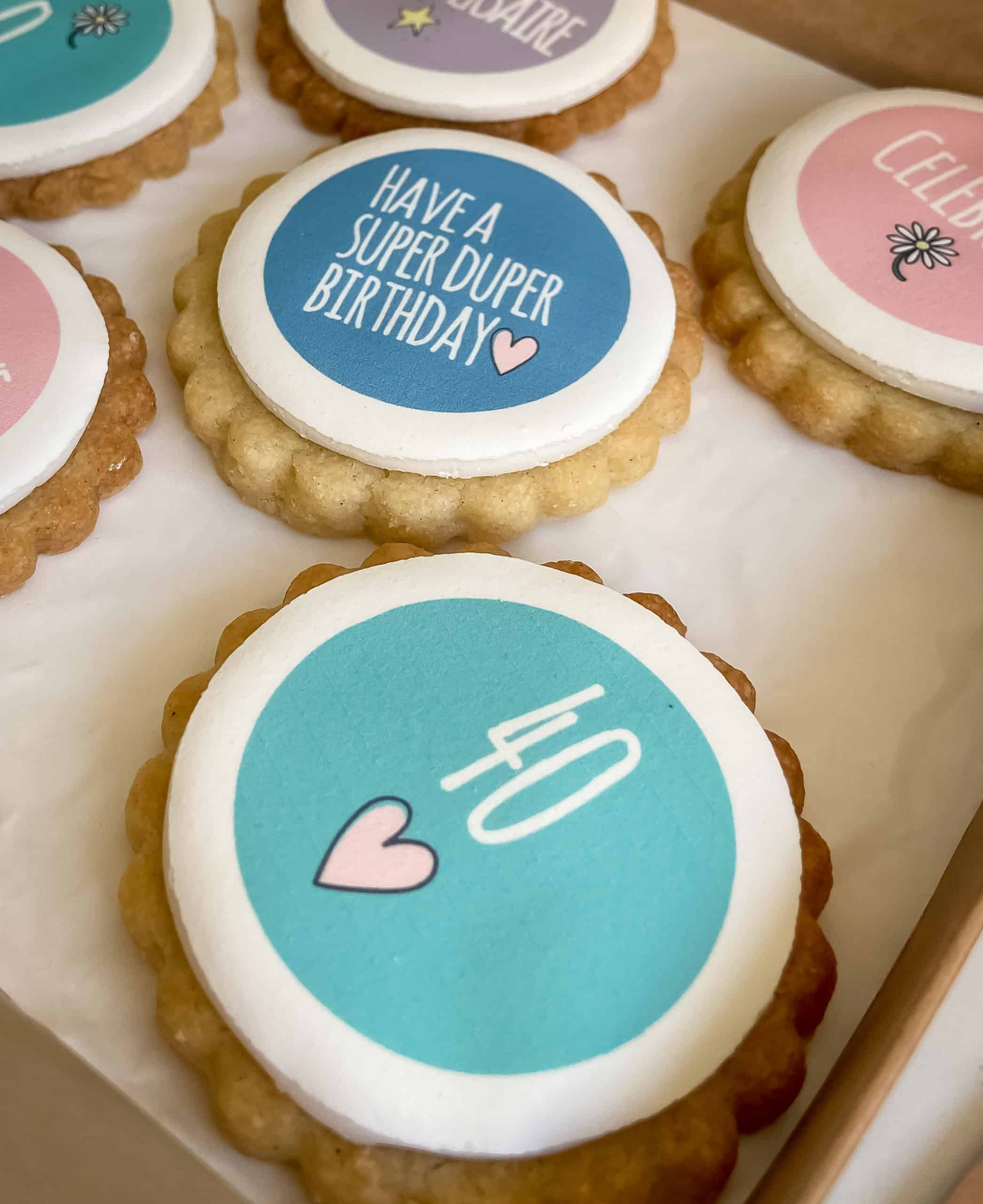 Happy Birthday Gift Biscuits