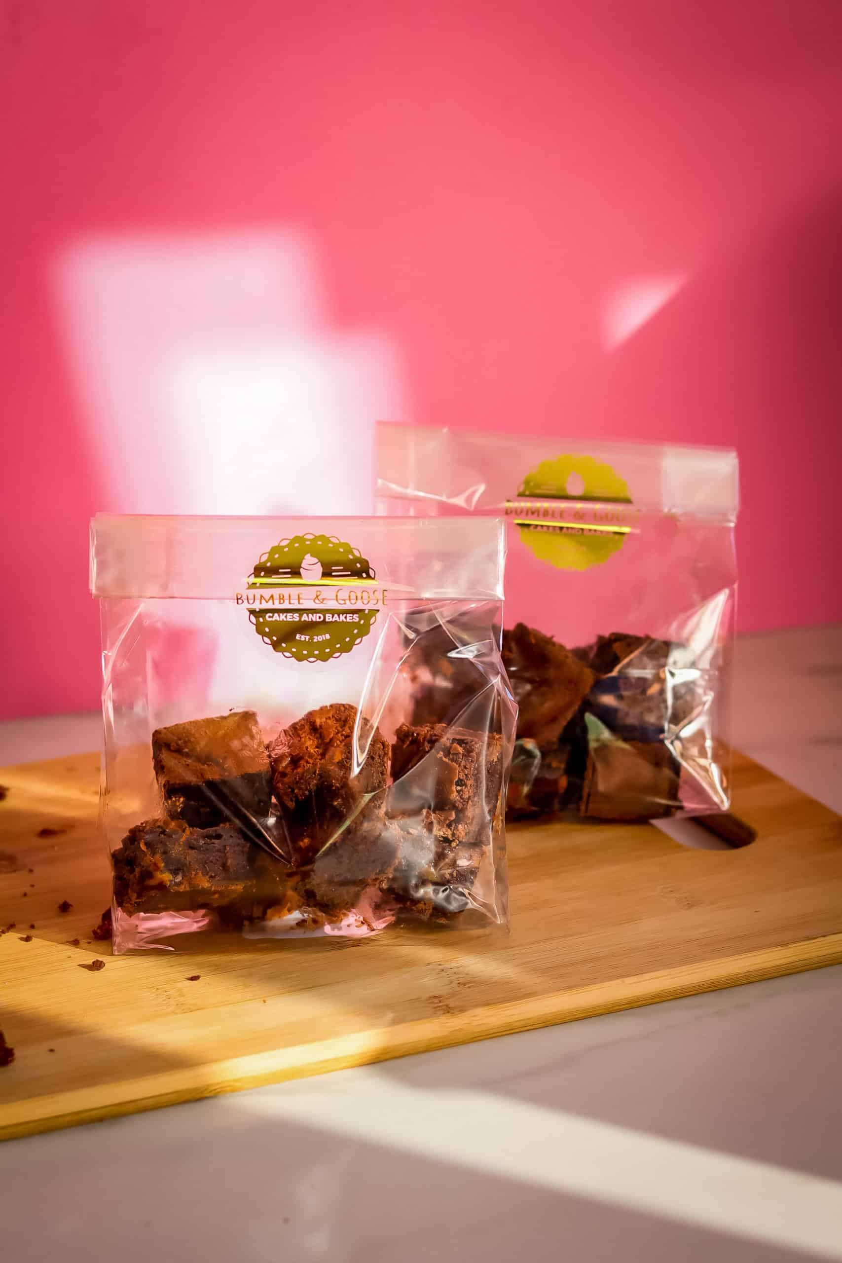 Handmade Brownie Corporate Favours