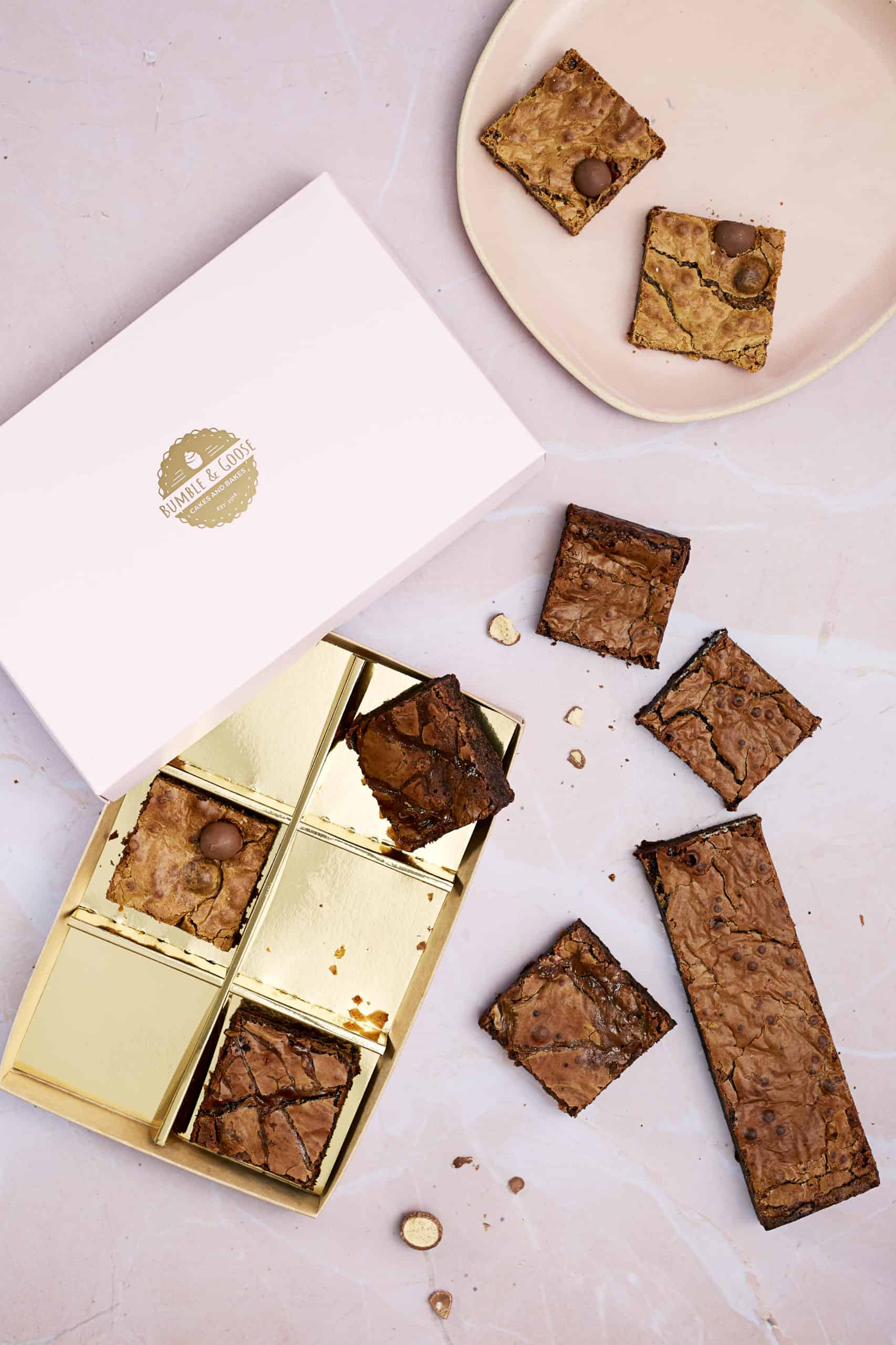 Luxury Mixed Box of Brownies