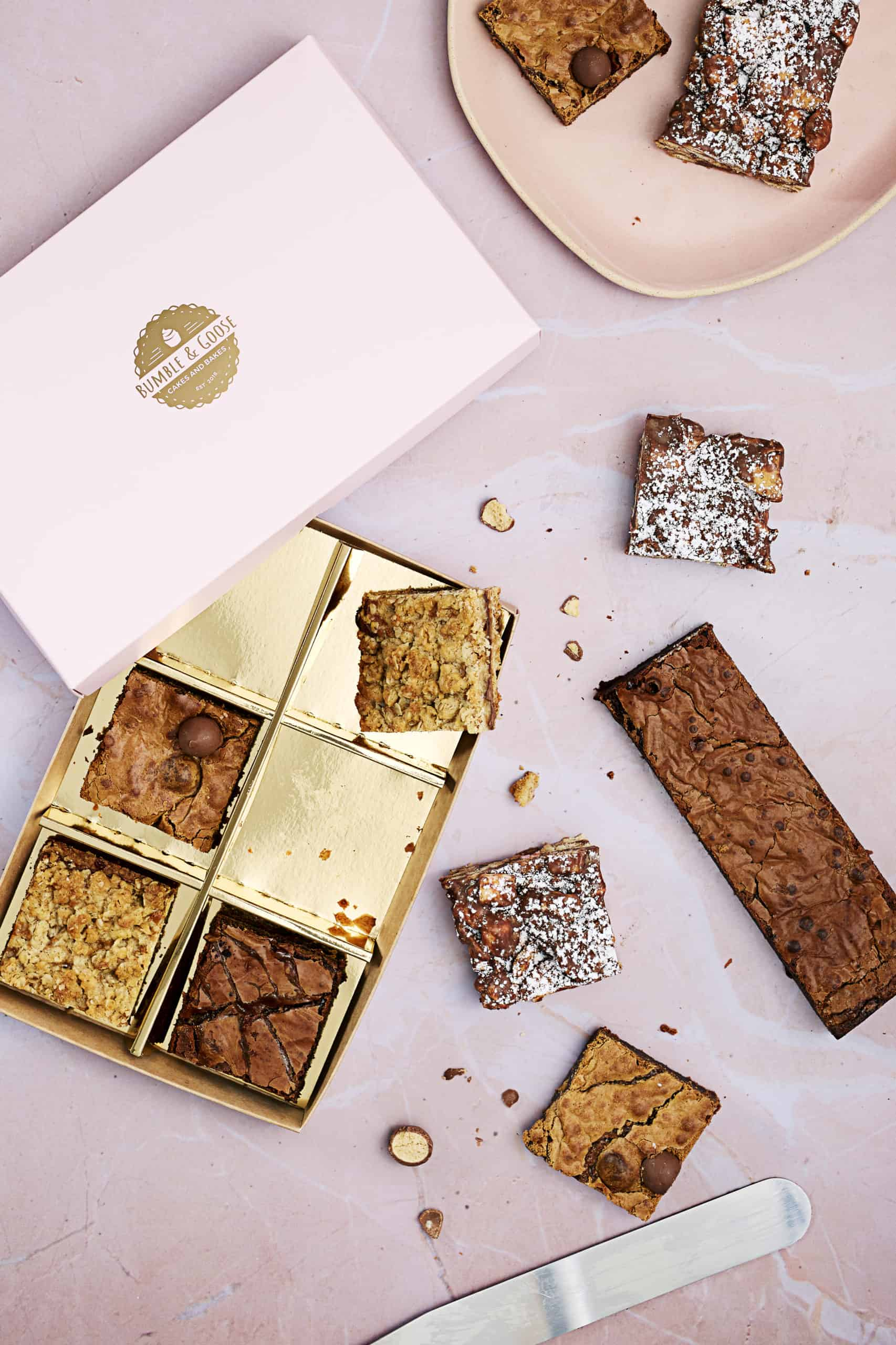 Luxury Mixed Box of Brownies & Rocky Roads