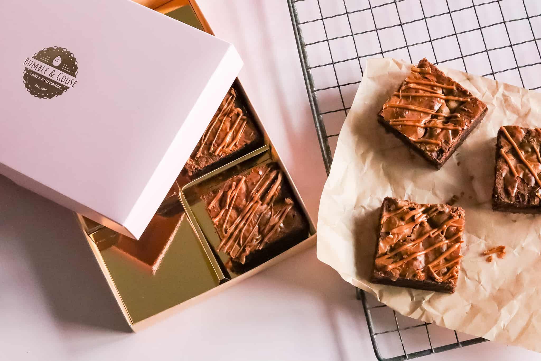 Biscoff Brownie gift box