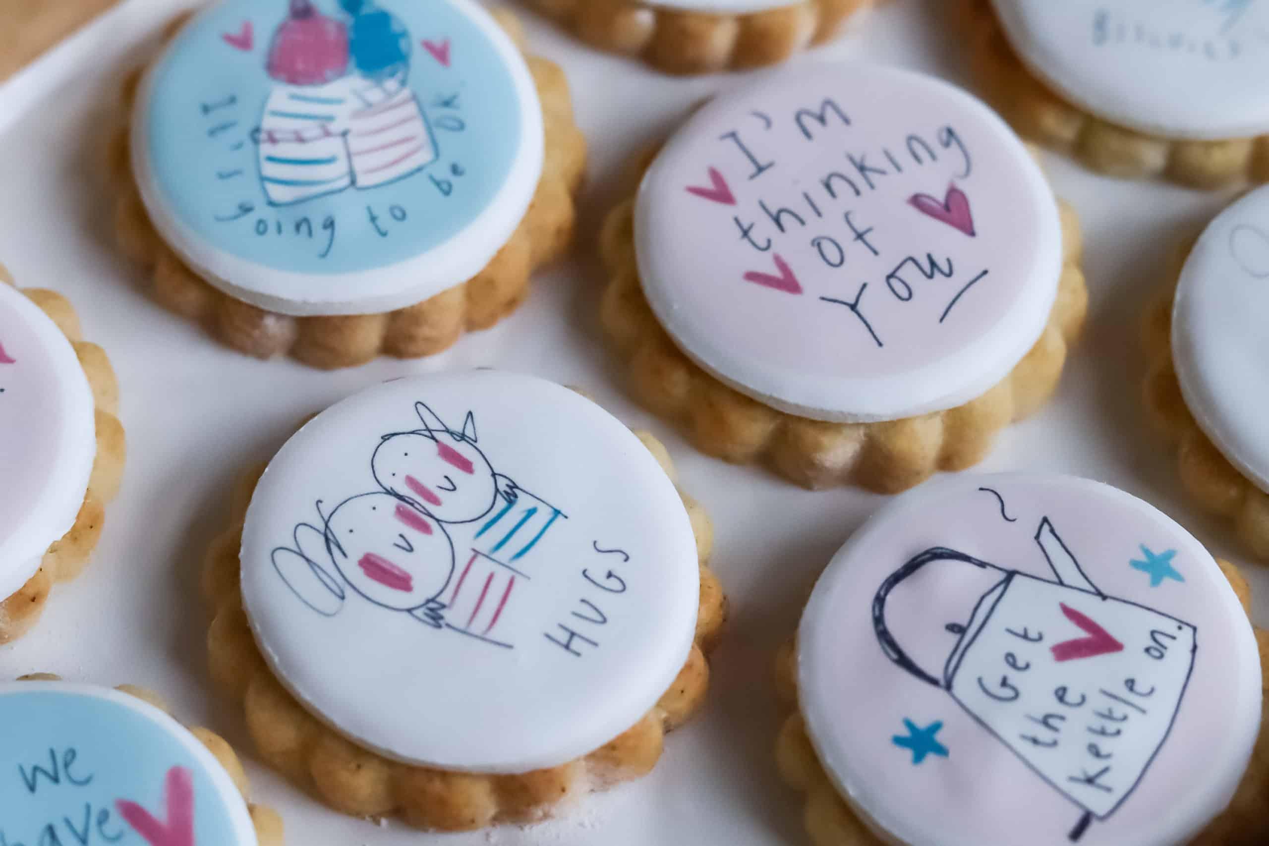 Sketchy Muma Virtual Hug Brownies & Biscuits Friendship Bundle