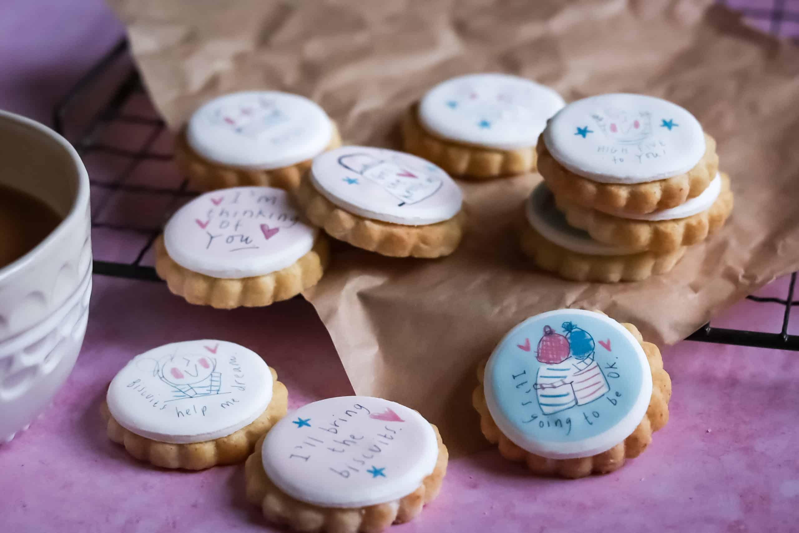 Sketchy Muma Virtual Hug Brownies & Biscuits Friendship Bundle Gallery Image