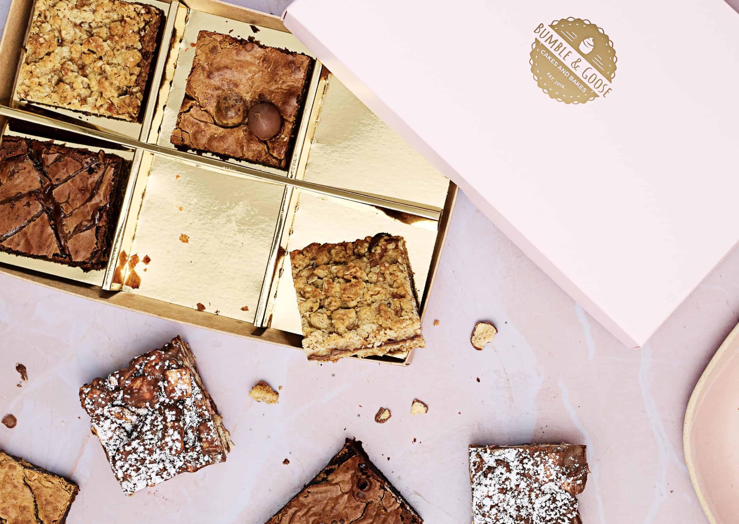 Luxury Birthday Gift Bundle – Brownies & Birthday Biscuits