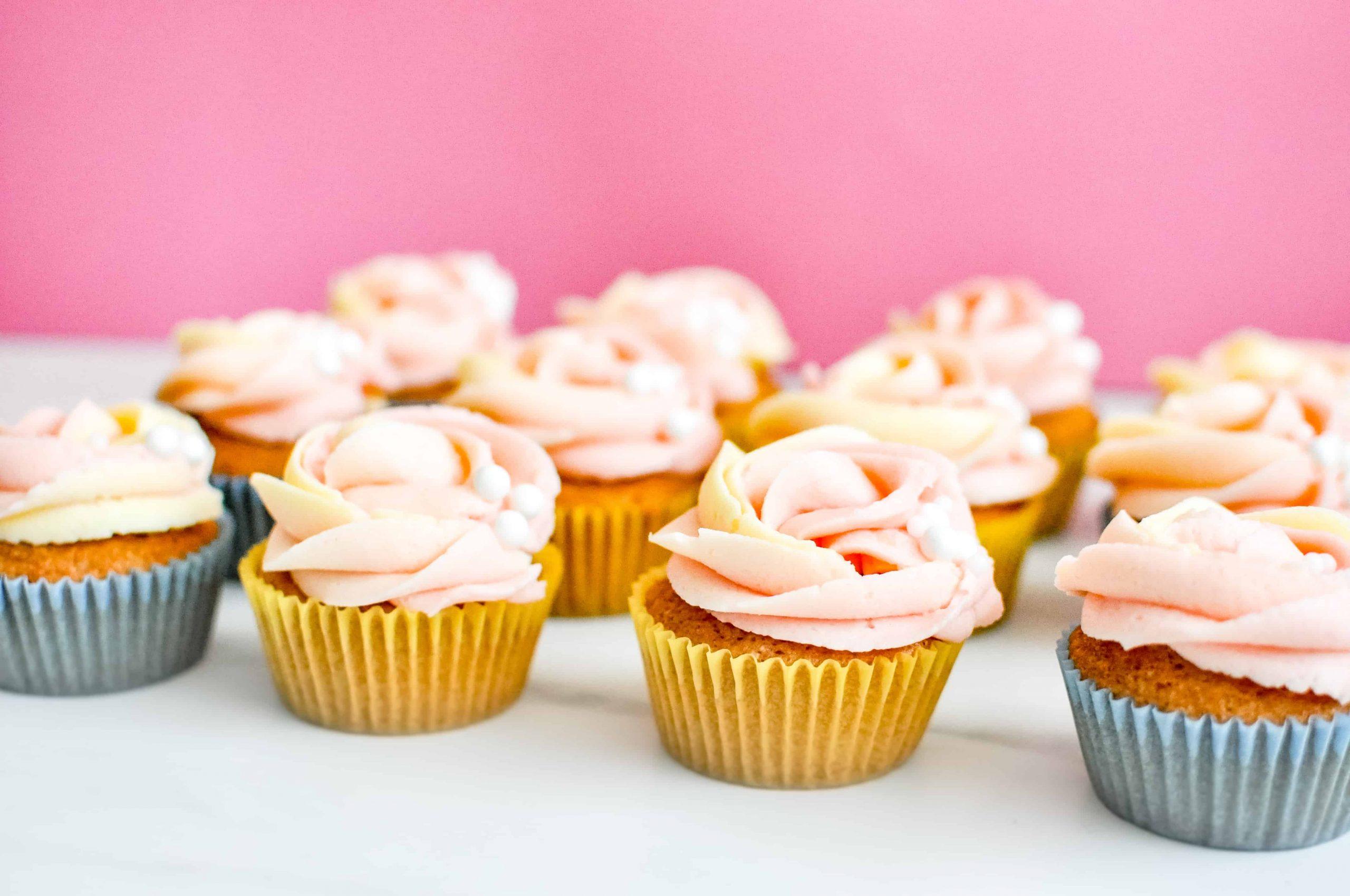 Vanilla Cupcakes Gallery Image