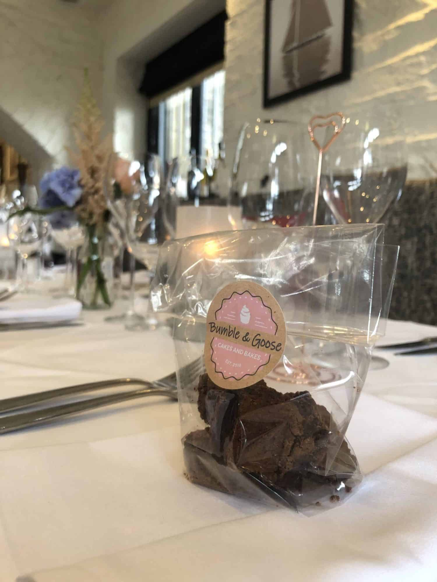 Handmade Brownie Corporate Favours Gallery Image