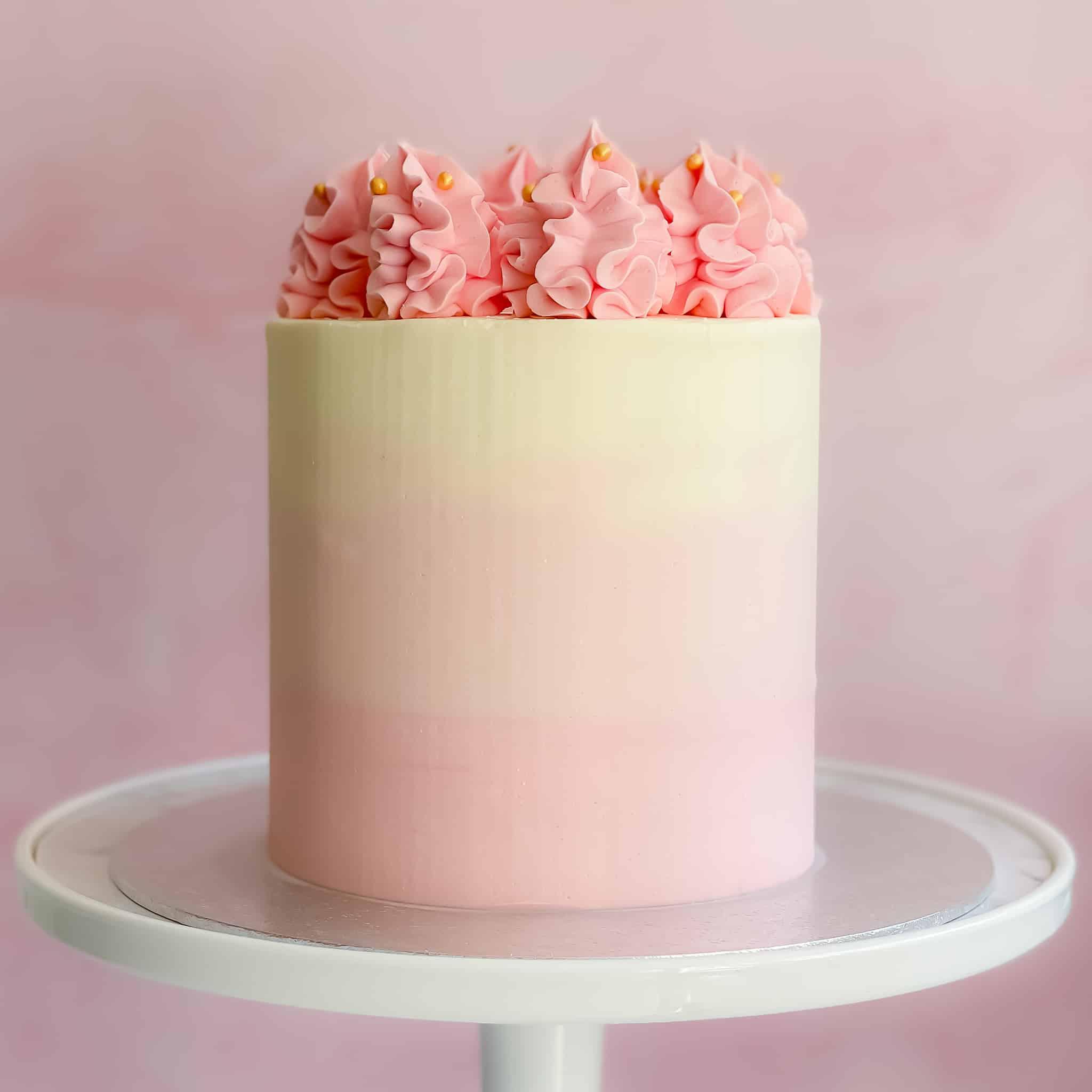 Luxury Ombre Cake