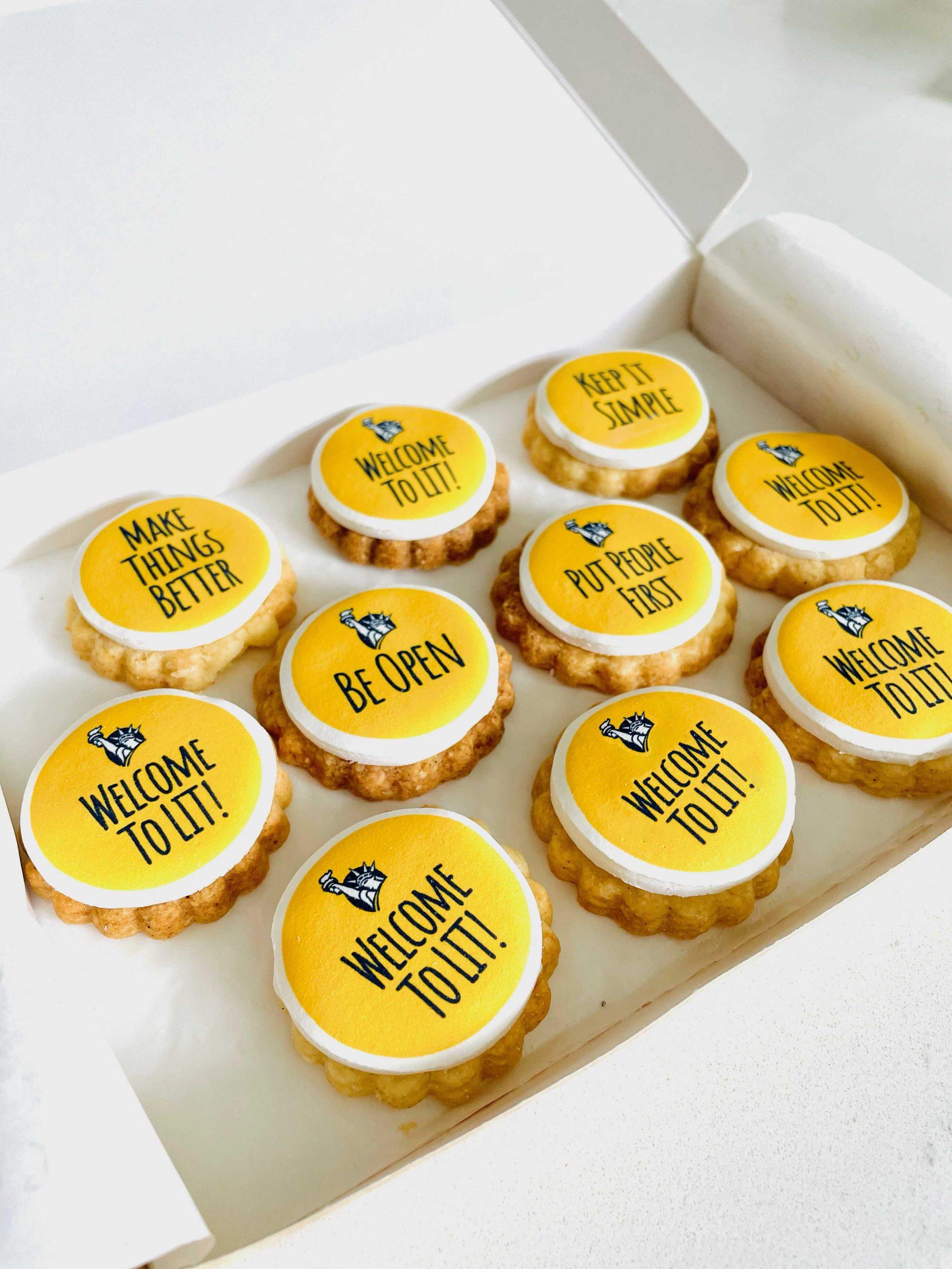 Custom Personalised Biscuits