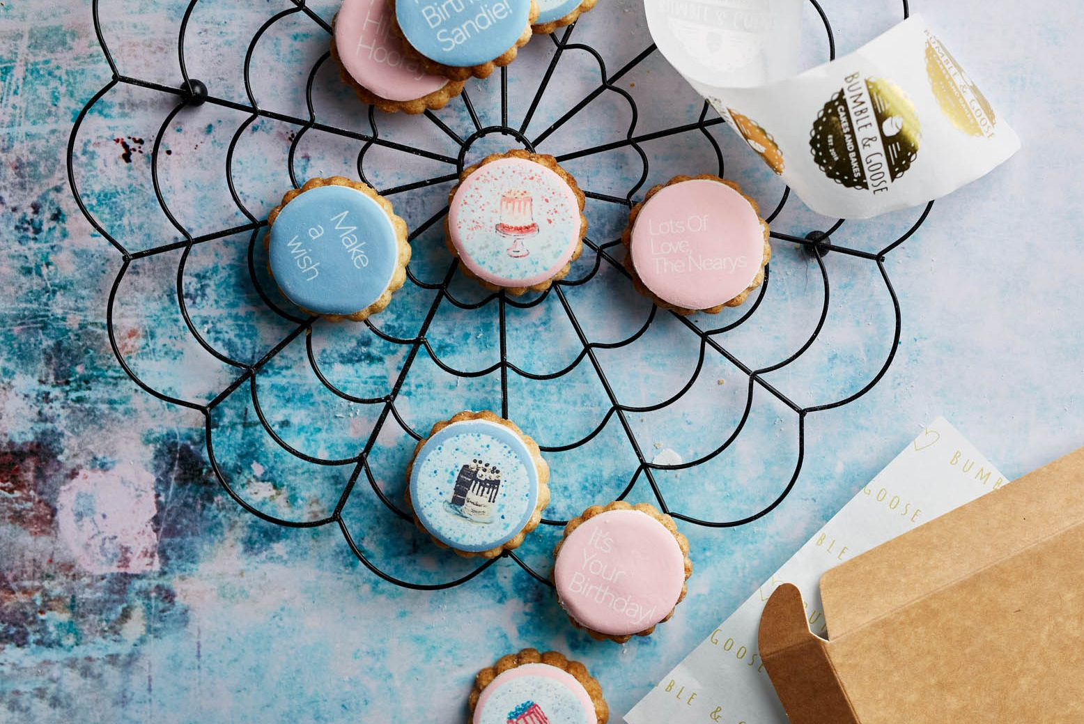 Birthday Cake Biscuits